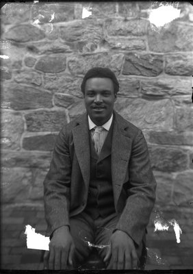 Albert West, murderer, in County Jail, Media, Pa.